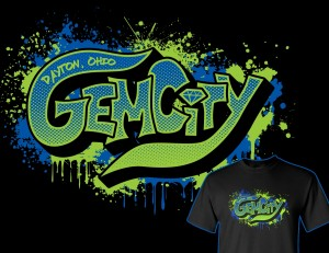 Gem City Graffiti T-Shirt