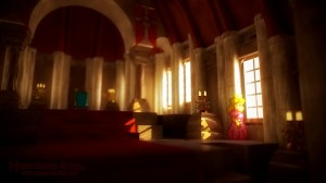Mushroom Kingdom Throne Room