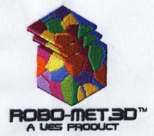 Robo-Met 3D Logo